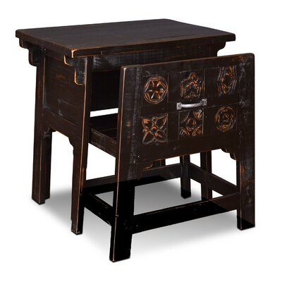 August Grove Lakeland Writing Desk with Hidden Chair
