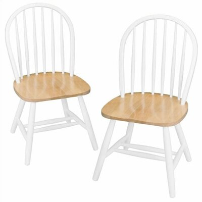 August Grove Windsor Side Chair (Set of 2)