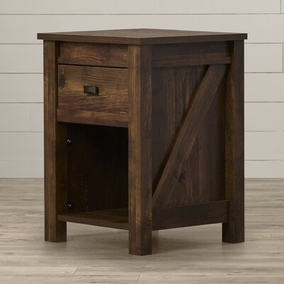 August Grove Gilby 1 Drawer Nightstand