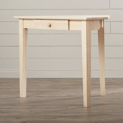 International Concepts Unfinished Corner Writing Desk