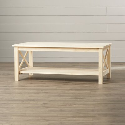 August Grove Towner X Hampton Coffee Table
