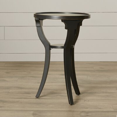 August Grove Milla Round End Table