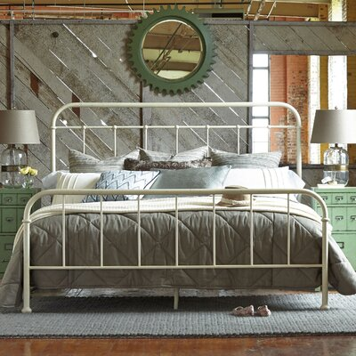 August Grove King Panel Bed