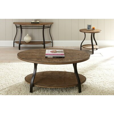 August Grove 3 Piece Coffee Table Set