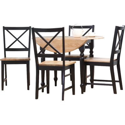 August Grove Sally 5 Piece Dining Set