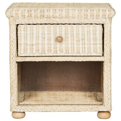 August Grove Emmalee 1 Drawer Nightstand