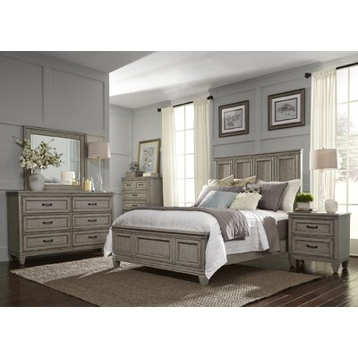 August Grove Grace Panel Customizable Bedroom Set