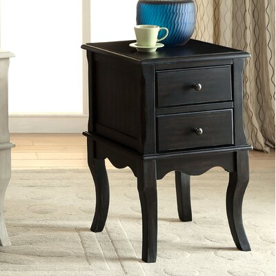 August Grove Leroux End Table