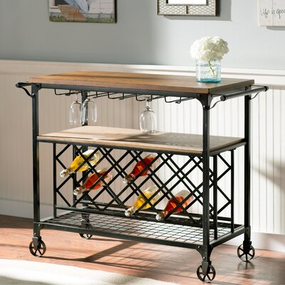 August Grove Anne Marie Serving Cart