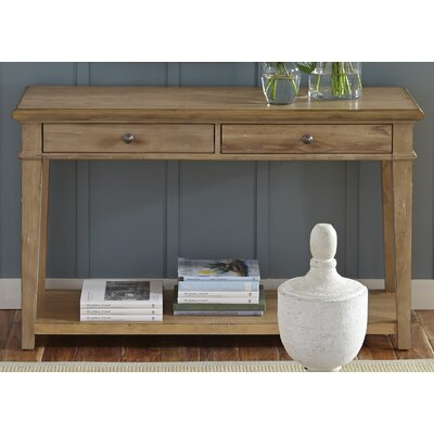 One Allium Way Ancolie Console Table