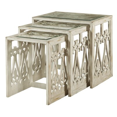 One Allium Way 3 Piece Nesting Tables