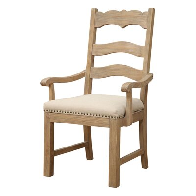 One Allium Way Willacoochee Arm Chair (Set of 2)