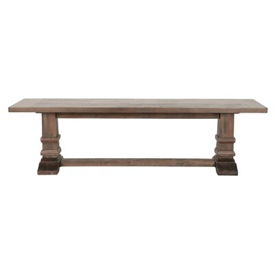 One Allium Way Galets Dining Bench