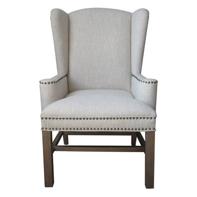 One Allium Way Neve Wing Back Chair