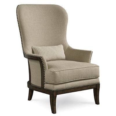 One Allium Way Palmetto Exposed  Arm Chair