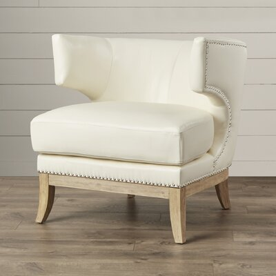 One Allium Way Bartow Contemporary Wingback Chair