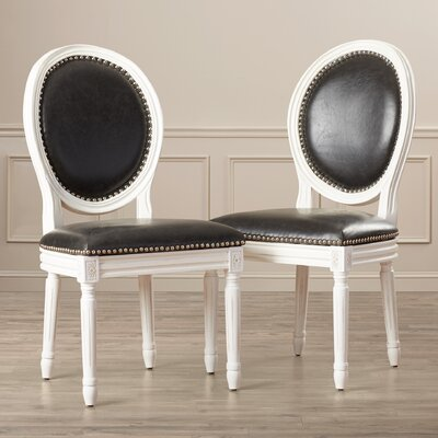 One Allium Way Leta Side Chair (Set of 2)