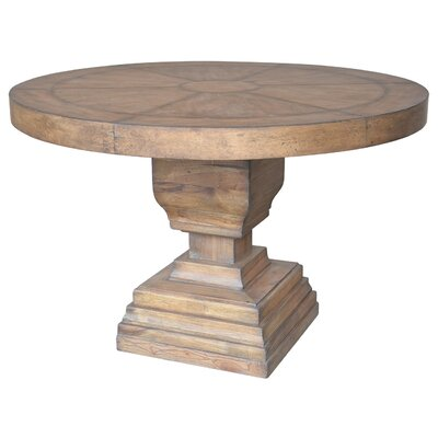 One Allium Way Remy Pedestal Dining Table