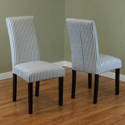 One Allium Way Lemelle Parsons Chair (Set of 2)
