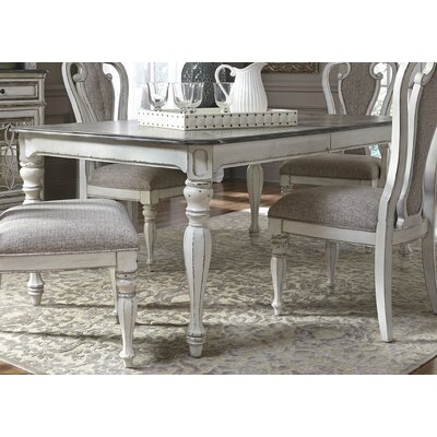 One Allium Way Colette Extendable Dining Table
