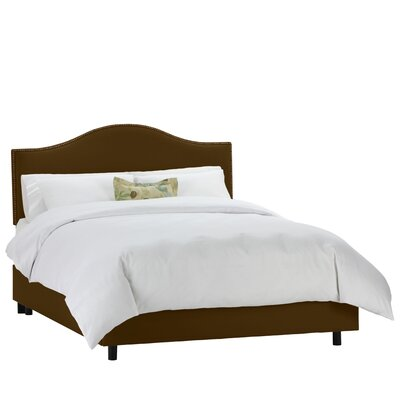 Beachcrest Home Upholstered Panel Bed