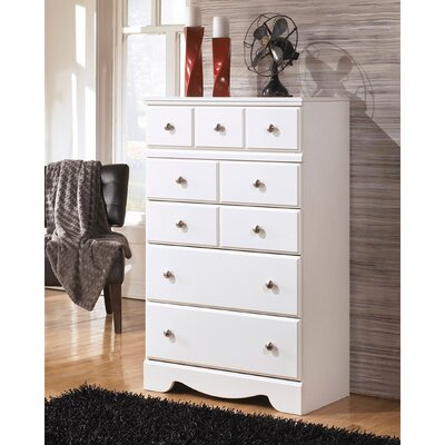 Beachcrest Home Carrabassett 5 Drawer Chest