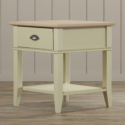 Beachcrest Home Dundee End Table with 1 Drawer