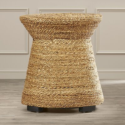 Beachcrest Home Wrightsville Wicker End Table