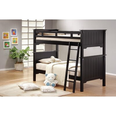 Three Posts Twin Futon Bunk Bed