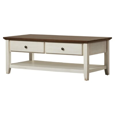 Beachcrest Home Willow Coffee Table