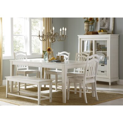 Beachcrest Home Silver Springs Dining Table