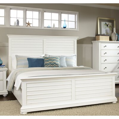 Beachcrest Home Woodminster Panel Bed