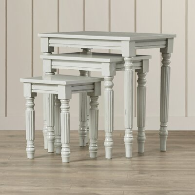 Beachcrest Home Bellmore 3 Piece Nesting Tables