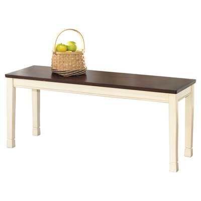 Beachcrest Home Magellan Wood Kitchen Bench