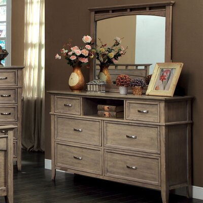 Beachcrest Home Tedder  6 Drawer Dresser