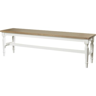 Beachcrest Home Cleveland Wood Bench