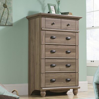 Beachcrest Home Pinellas 5 Drawer Chest