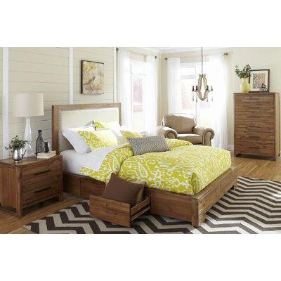Beachcrest Home Upholstered Platform Bed