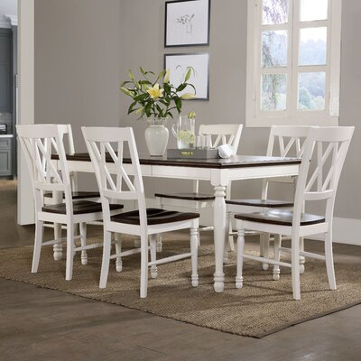 Beachcrest Home Tanner 7 Piece Dining Set