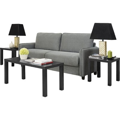 Beachcrest Home Sunbury 3 Piece Coffee Table Set
