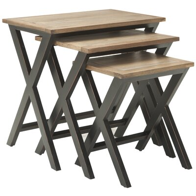 Loon Peak 3 Piece Edgecomb Nesting Table Set