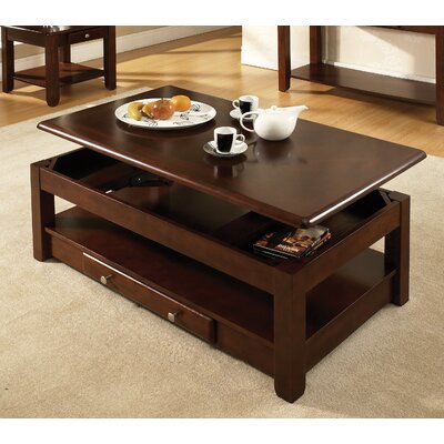 Loon Peak Arboles Coffee Table with Lift-..