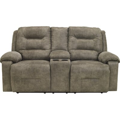 Loon Peak Tressider Loveseat with Console