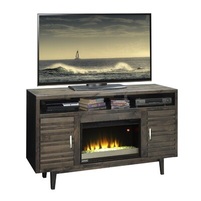 Loon Peak Calavar TV Stand with Electric Fireplace