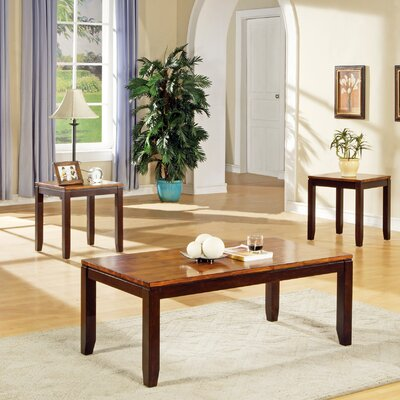 Loon Peak Frazer 3 Piece Coffee Table ..