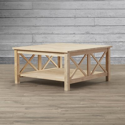 Loon Peak Walden Wood Coffee Table