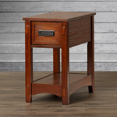 Loon Peak Barrett 1 Drawer End Table