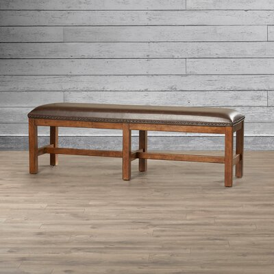 Loon Peak Gilcrest Upholstered Bench