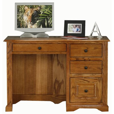 Loon Peak Mancos Computer Desk with 2 Letter Drawer