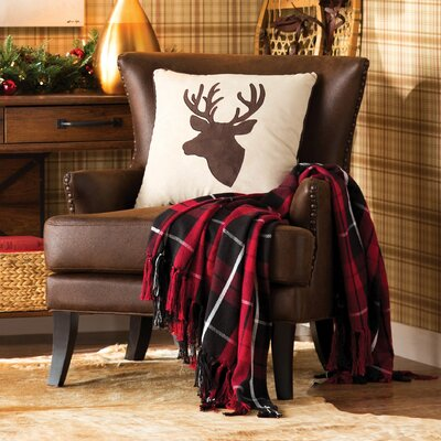Loon Peak Vinita Faux Leather Arm Chair
